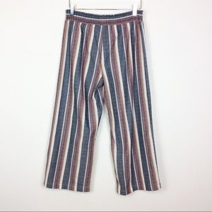 DREW cotton pull on crop pants.
